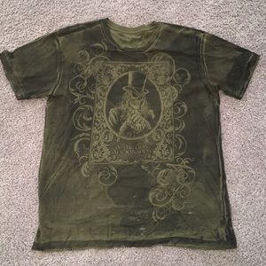 Other - Green Graphic Tee